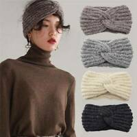 Winter Knitted Warmer Headwrap Ladies Crochet Twist Headband Girls Hairband Ear