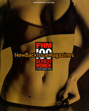FHM Sexiest Women in the World 1/01,Model,January 2001,NEW