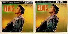 Elvis Presley Elvis EP Lautstärke I & II 1956 Z502