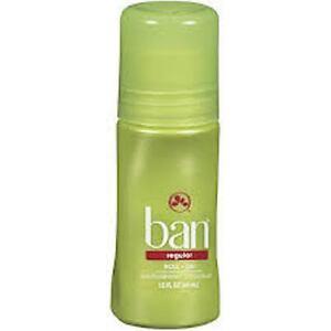 Ban Roll On Regular Antiperspirant & Deodorant, 1.5 oz (6 Pack)