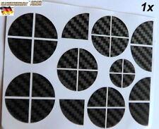 Orig.Carbon Ecken 30 pcs Ecken für Auto KFZ Car Logo Emblem Lenkrad 1A-Qualität*