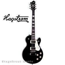 HAGSTROM HSSWEBLK SWEDE ELECTRIC GUITAR IN BLACK GLOSS FINISH - BRAND NEW