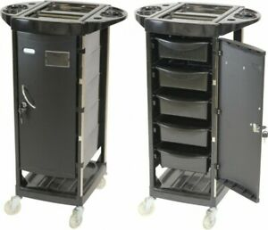 New 5 Drawer Trolley Salon Spa Hairdresser Multifunction MobileCart FreeDelivery
