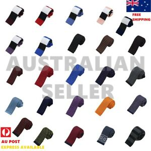 Men's Knitted Slim Tie Casual Knit Tie Christmas Skinny Tie By Dan Smith CCGA02