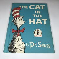 Vintage Dr. Seuss The Cat In The Hat Children's Book Club First Edition 1957