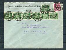 Firmenumschlag DR 20+40 Mark MiF Magdeburg-Vienenburg - b4275