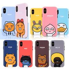 Kakao Friends Tough Bumper Case for Apple iPhone XS Max XR XS X 8 8 Plus 7 6 5SE