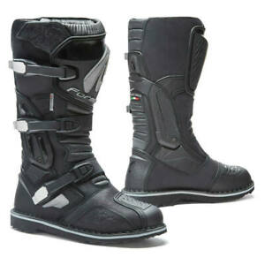 motorcycle boots | Forma Terra Evo black adventure dual sport adv 2019 model