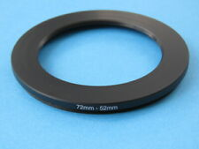 72mm to 52mm Stepping Step Down Ring Camera Lens Filter Adapter Ring 72-52mm