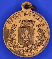 French France medal Souvenir Du Grand Concours De Lille 1870  [18199]