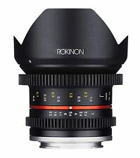 Rokinon 12mm T2.2 Cine Ultra Wide Angle Video Lens for Fuji X