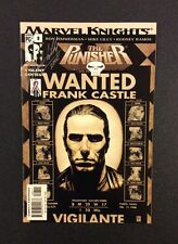 PUNISHER #8 Comic Book Marvel Knights SIGNED MARK LILLY 2002 Vigilante TV Show