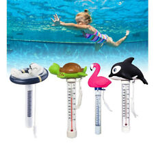 """8.66"""" Cartoon Floating Outdoor Swimming Spa Pool Thermometer with String"""