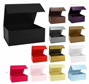 @ Luxury Premium Snap Shut Gift Boxeswith magnetic closure Birthday Christmas