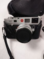 Leica M7 0.72 35mm Rangefinder  Camera With Summicron  E 39 Lens And SF 20 Flash