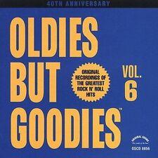 Oldies but Goodies, Vol. 6 CD  dee clark SHANGRI-LAS dion ISLEY BROTHERS