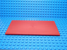 LEGO LEGOS  -  One  NEW  8 x 16 Tile with Bottom Tubes on Edges RED 2009 5-12