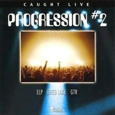 Caught Live Progression #2 (CD 2002) ELP Greg Lake GTR New/Sealed