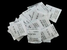 20 x 1g Packets of Silica Gel Sachets Desiccant Pouches Craft U137