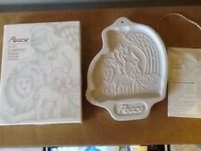 Longaberger 1993 Peace Angel Pottery Cookie Mold - New!