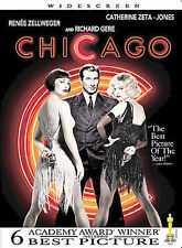 Chicago DVD 2003 Widescreen Richard Gere, renee Zellweger NEW and Sealed