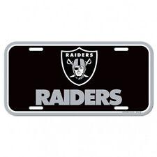 NFL Football OAKLAND RAIDERS Plate Schild Kennzeichen USA Nummernschild Licence
