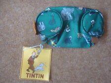 Tintin Pencil Case (tubular) - Tintin in the Congo Design - Green - New