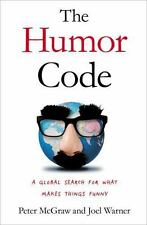 The Humor Code: A Global Search for What Makes Things Funny - Good - McGraw, Pet