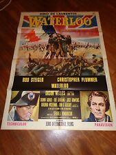 manifesto,1970,WATERLOO STEIGER,PLUMMER ORSON WELLES,NAPOLEONE BONAPARTE