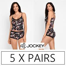 5 x PAIRS JOCKEY PARISIENNE VINTAGE FULL BRIEF Underwear - Miss Botanica 14T