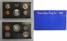 1970 Proof set 40% Silver Kennedy - (OGP) 5 coins