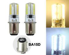 BA15D B15 LED Bulb 3W 64 3014 SMD Light Fit Vacuum cleaner/Singer sewing machine