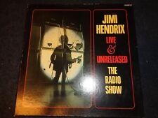 JIMI HENDRIX LIVE & UNRELEASED THE RADIO SHOW 5 RECORDS POSTER BOX SET L24 FL