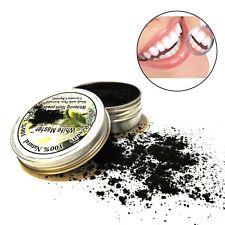 Natural orgánica polvo de carbón activado Blanqueamiento De Dientes Teeth Health