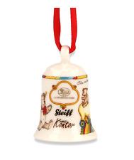 Hutschenreuther Porzellan-Miniglocke Steiff Teddybären Glocke