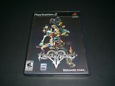 """Kingdom Hearts II (Sony PlayStation 2) Complete """"Great Condition"""" PS2"""