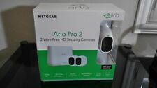 Arlo Pro 2 Security Camera System, 2 Camera Kit, Wire Free HD NEW!