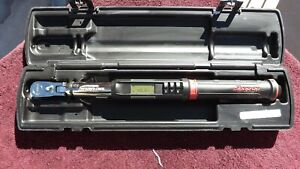 """SNAP-ON *MINT!* 3/8"""" DRIVE ATECH2FR125B """"NEWEST STYLE"""" ELECTRONIC TORQUE WRENCH!"""