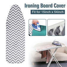 "Ironing Board Cover Coated Thick Padding Heat Resistant And Scorch Pad 15"" x 54"""