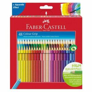 Faber Castell Grip Coloured Pencils Set of 48