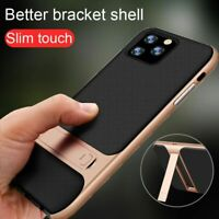 Luxury Rugged Hybrid Shockproof Armor Stand Cover Case New For iPhone 11 Pro Max