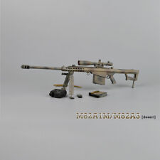 """ZYTOYS 1/6 Scale M82A1 Sniping Rifle Desert Model for 12"""" Action Figure"""