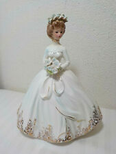 "VINTAGE JOSEF ORIGINALS BRIDE FIGURINE 8 3/4"" TALL"