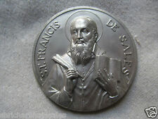 Vintage St. Francis De Sales Catholic Religious Icon Christianity Made In Italy