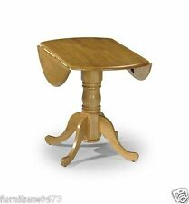 Solid Pine Drop Leaf Dining Table W53-91cm x D91cm x H74cm DUNE (TABLE ONLY)