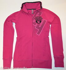 JOSHUA PERETS Ladies Zip-up with Logo (Pink) Size 2  95% Cotton / 5% Spandex