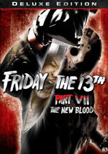 Friday The 13th, Part VII: The New Blood (DVD,1988)