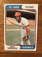 1974 Topps Bob Gibson #350 VG EX COMBINE SHIP