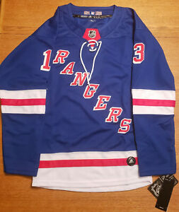Youth New York Rangers Alexis Lafreniere ADIDAS Home NHL Hockey Jersey Size S/M