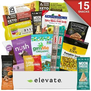 Healthy Low Carb / Low Sugar Snacks Gift Box - Mother's Day, Gluten Free, Keto
